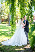 Christina Carviou and Chris Brumback, wedding
