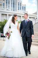 Lacey McInish and Daniel Knause, wedding