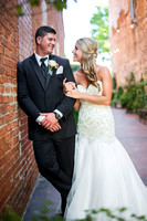 Brittany Cox and Corey Nelms, wedding