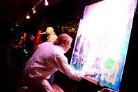 Rock - Ric Standridge live painting and concert
