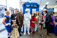 Doctor Who Day at Borderlands, Facebook sized