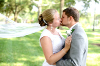Angela Hornby and Cade Weatherly, wedding