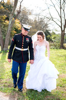 Kim Adkins and Daniel Tisdel, wedding